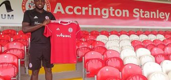 Accrington Stanley sign Zanzala from Derby